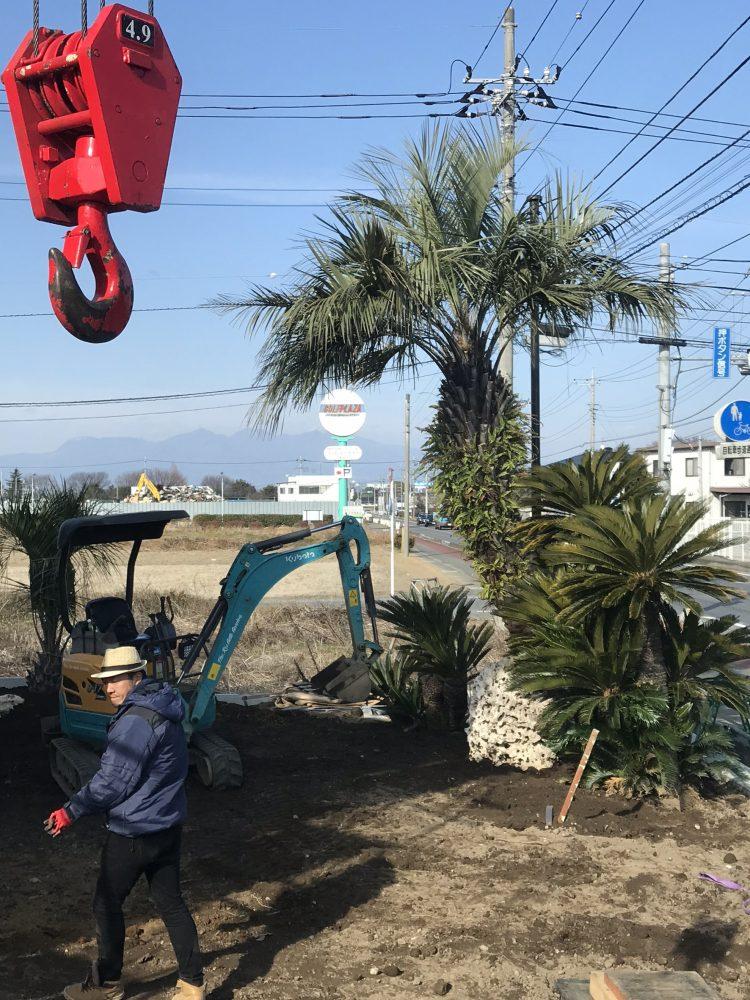 伊勢崎市内 造園工事