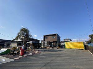 伊勢崎市内 コンテナ設置