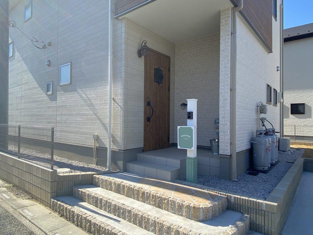 熊谷市内 ドライガーデン植栽