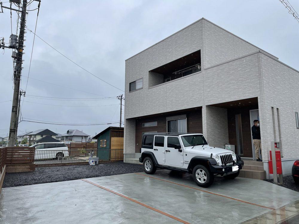 伊勢崎市内 ココスヤシ植栽