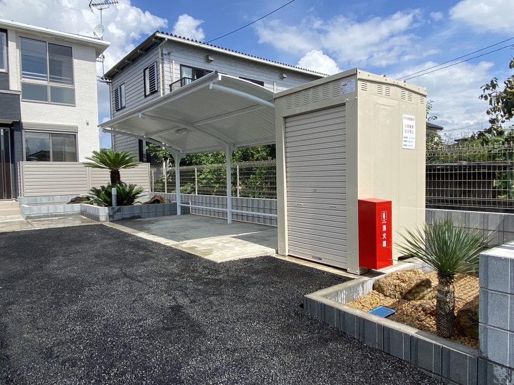 東松山市集合住宅 造園工事